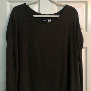 Urban Outfitters Dark Green Long-Sleeve